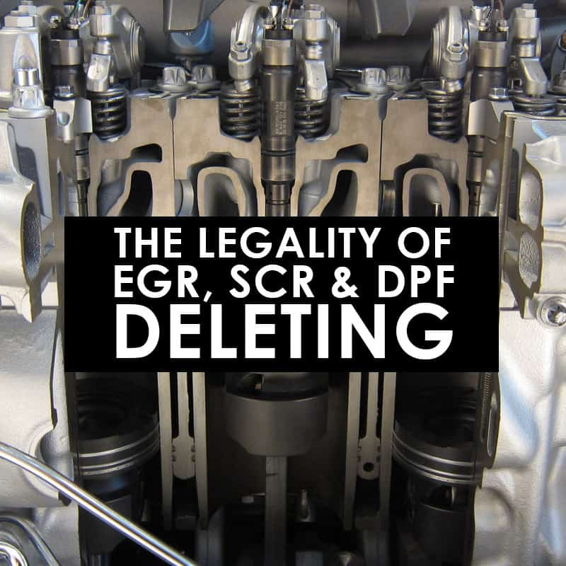 Photo of Engine - Legality of EGR - SCR - DPF - Deleting - Oklahoma Technical College Blog Image