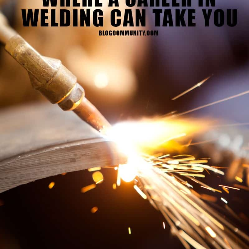 photo of welding torch cutting pipe - where a career in welding can take you oklahoma technical college tulsa ok