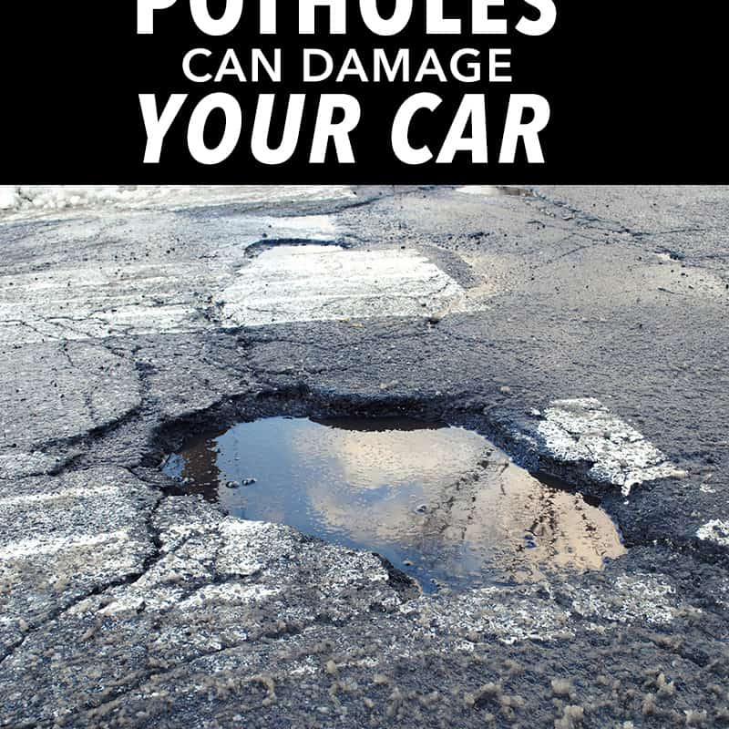 picture of pothole - how potholes can damage your car - oklahoma technical college