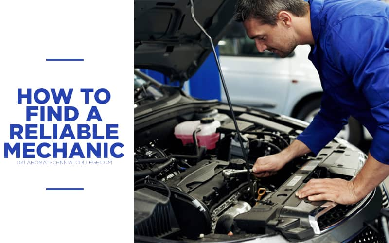 Hoe to find a reliable mechanic