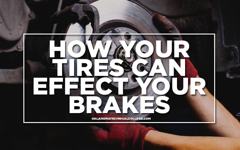 photo of brakes for how your tires can effect your brakes blog oklahoma technical college tulsa, ok