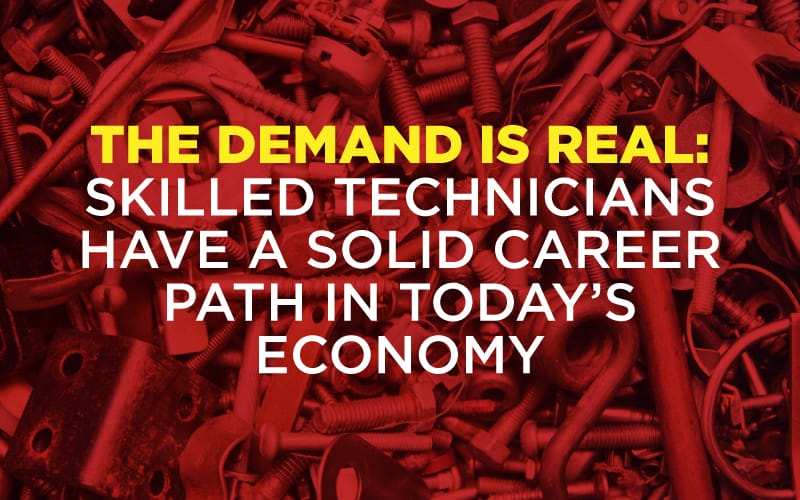 header image for the demand is real: skilled technicians have a solid career path in today's economy blog oklahoma technical college tulsa, ok