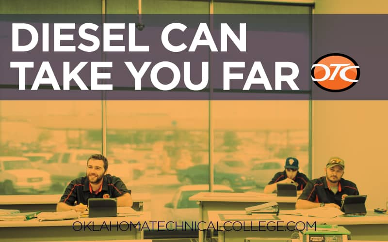 Blog Image for Diesel can take you far - oklahoma technical college - tulsa, ok