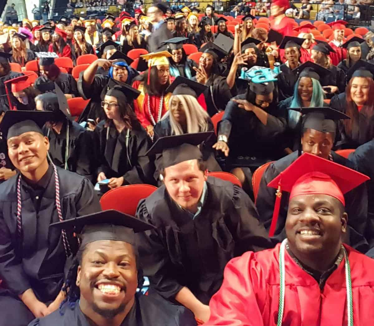 students graduating class at oklahoma technical college in tulsa ok