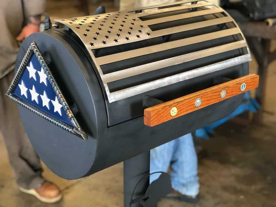 OTC Grill Made for Folds of Honor